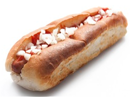 Foto Hot dog speciaal ketchup
